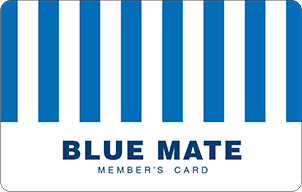 BLUE MATE MEMBER'S CARD